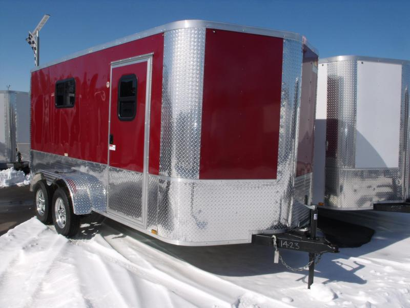 Enclosed Trailer 7 X 14 BARN DOORS ALL TUBE CONSTRUCTION