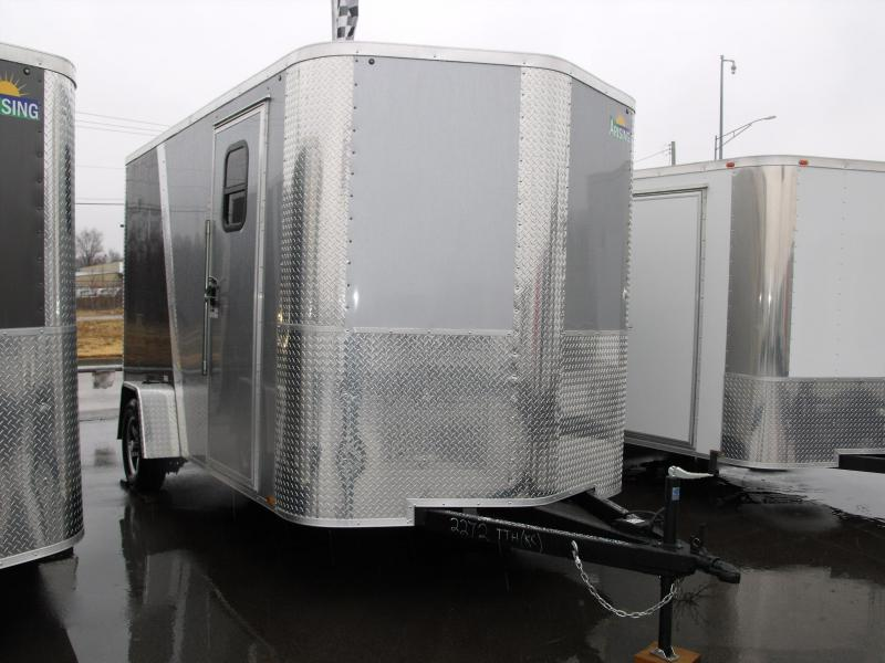 Enclosed Trailer 7 X 12 Ramp 2990 Axle 7' Interior 30AMP  ((( Panel ALL TUBE CONSTRUCTION )))
