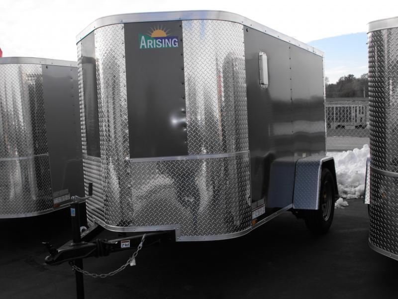 Enclosed Trailer 5 X 8 Ramp Fits In The Garage ALL Tube Construction