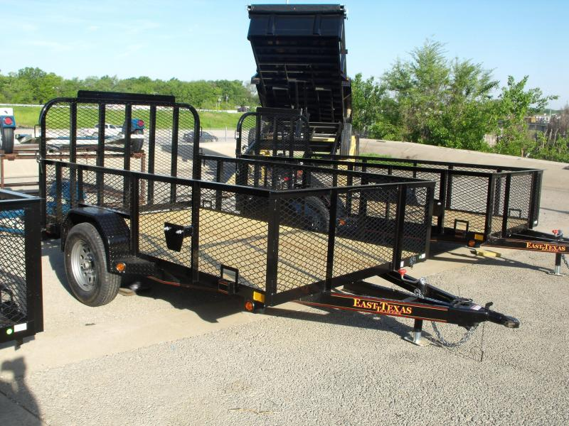 Utility Trailer Hi Wall 77 X 10 Tube Gate 2990 Axle