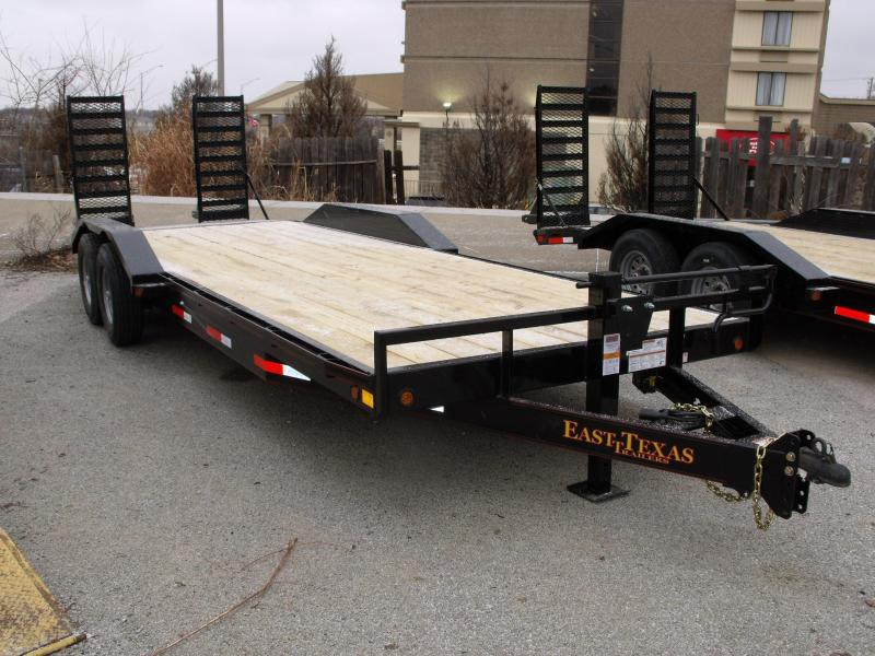 Equipment Trailer - Car Hauler 83 X 24  Metal Dove 14000 GVW