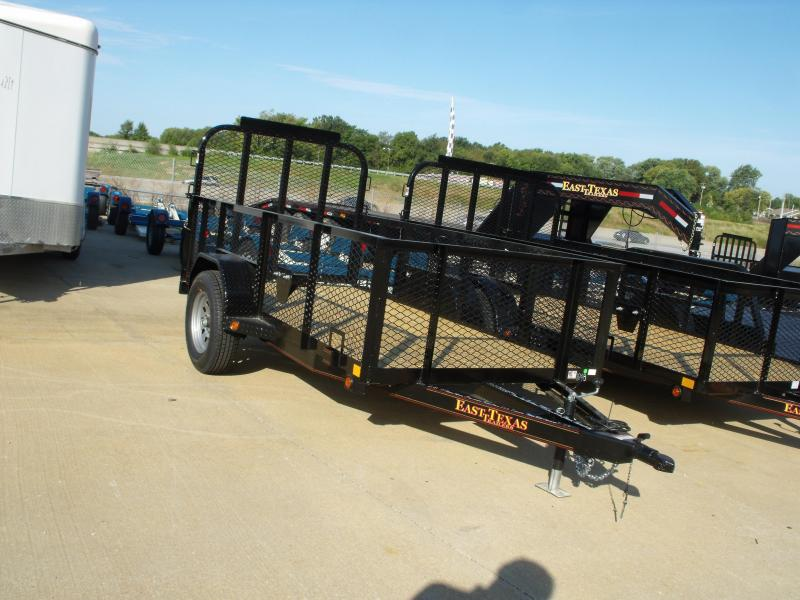 Utility Trailer 5 X 10 Hi Wall ALL HD Spring Assisted Gate LED's