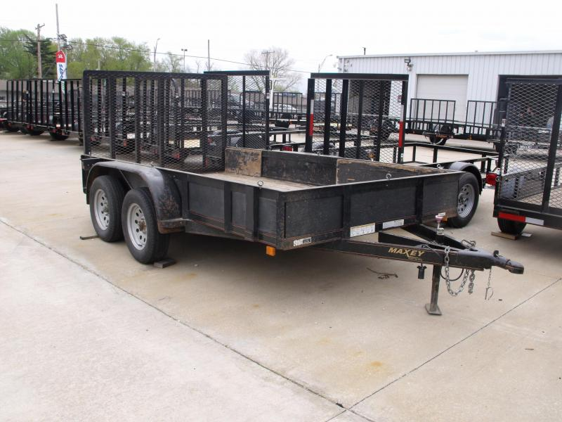 Used Trailer 77 X 12 Ramps 7000 GVW Brakes