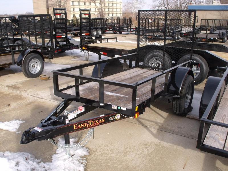 "Utility Trailer 4 X 8  Ramp 2990 Axle 16"" Radial Tires"