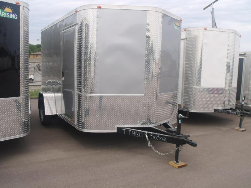 "Enclosed Trailer 7 X 10 Ramp 6' 3"" Height    Motorcycle Trailer"