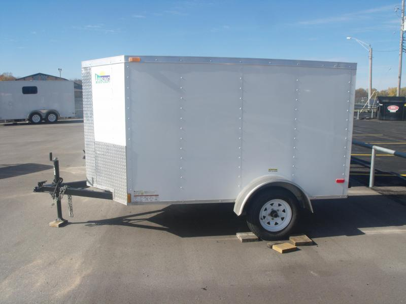 "Used Trailer 4 X 8 Ramp Arising ""V"" Nose Tube Construction"
