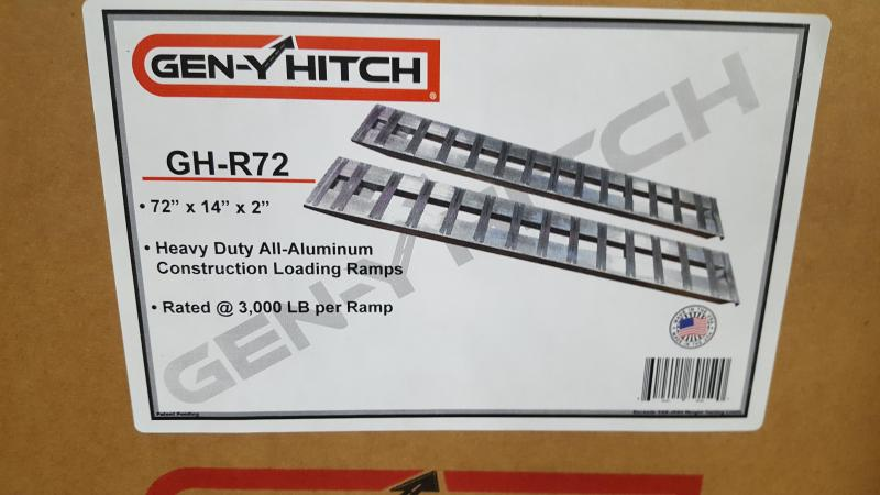 Aluminum Loading Ramps 6'  3000 LBS PER RAMP GEN-Y