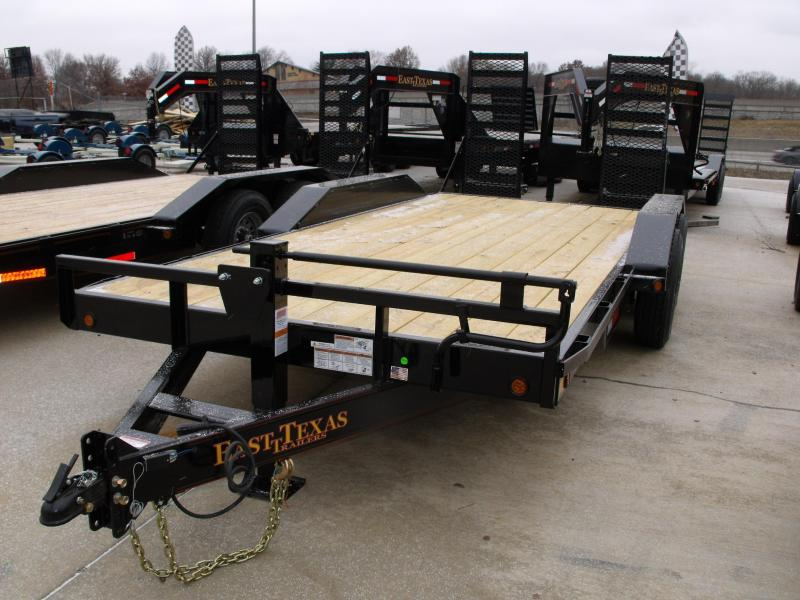 Equipment Trailer - Car Hauler <<DRIVE OVER RAMPS>>  83 X 18 Metal Dove 14000 GVW