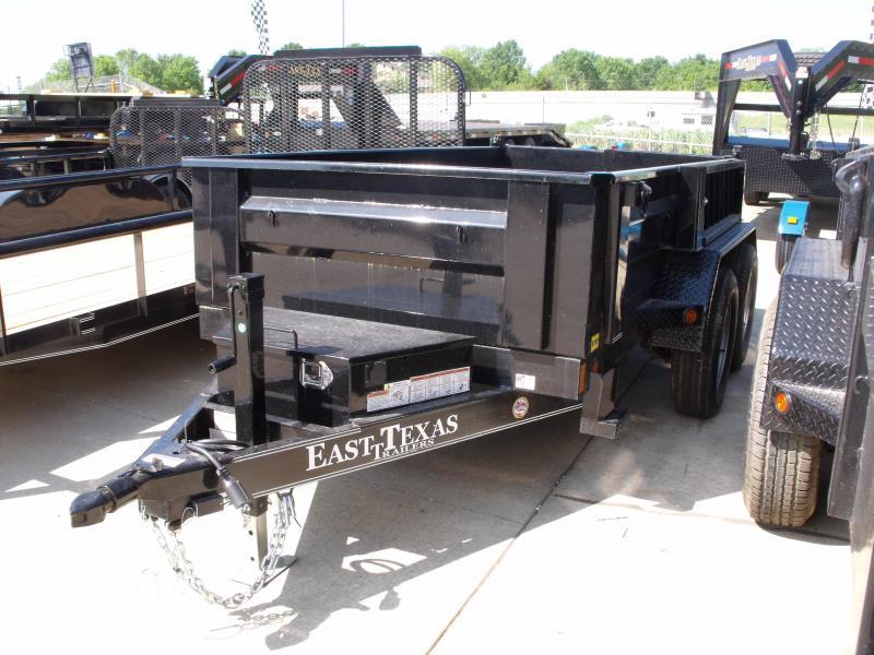 Dump Trailer 5 X 10  Spreader Gate 7000 GVW 4 Wheel Brakes