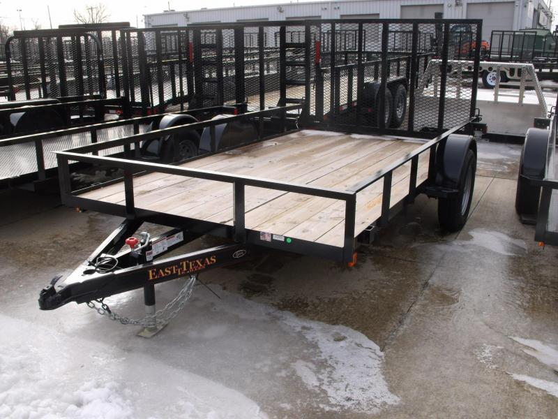 Utility Trailer 77 X 12  Ramp 2990 Axle East Texas