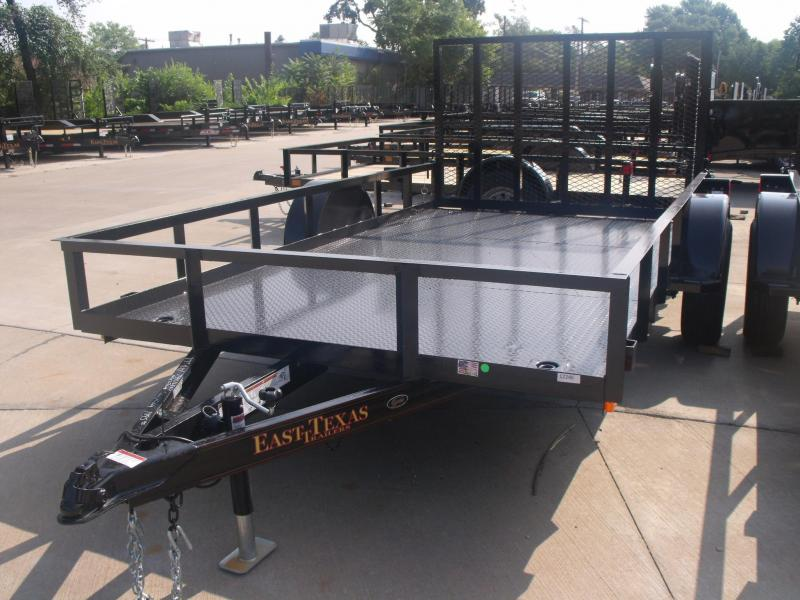 Utility Trailer 77 X 12 Metal Deck With Ramp