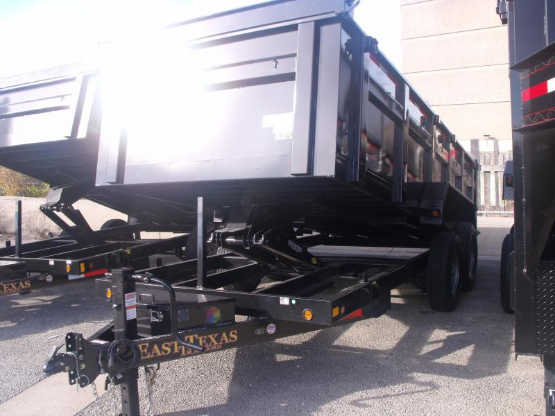 HI-Wall Dump Trailer 83 X 16 Spreader Gate 3' Walls 14000 GVW