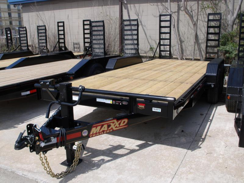 Equipment Trailer 83 X 18 Dove 14000 GVW Boxed Ramps