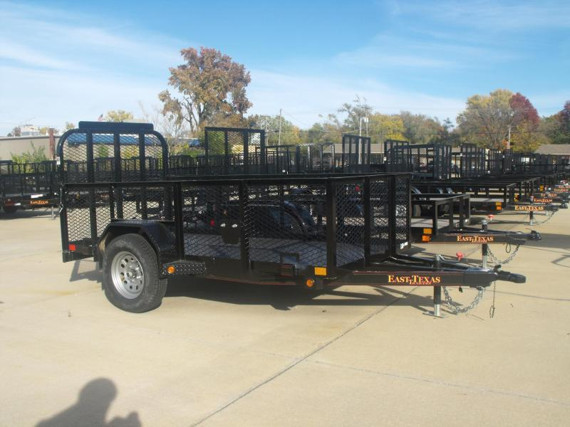 Utility Trailer 5 X 10 Hi Wall ALL Steel Trailer Gate
