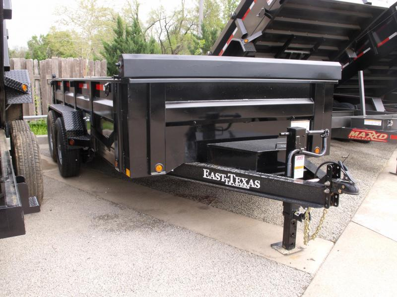 Dump Trailer LOW PRO  83 X 14   14000 GVW  Tarp Included