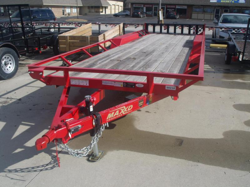 "ATV Trailer 61"" X 20 Side Load Rear 7000 GVW"