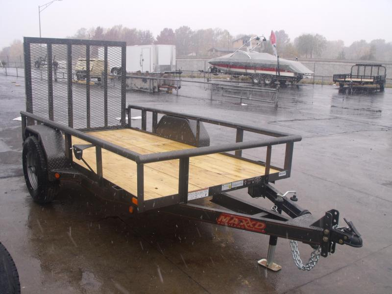 "Uyility Trailer 61"" x 10 Ramp 5200# Axle Electric Brakes"