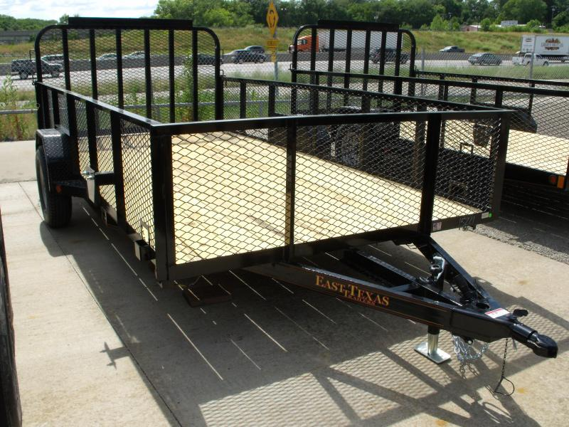 Hi Wall Utility Trailer 83 X 14  High  Wall Electric Brakes 3500 #  Axle