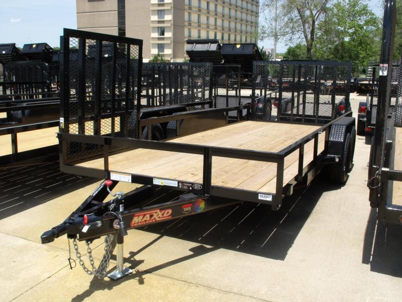 Landscape Trailer 83 X 18  Side-load Rear Load 7000 GVW 4 WL Brakes