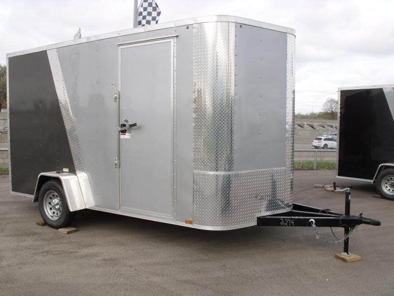Enclosed Trailer 7 X 12 Ramp 7' Tall Razor Trailer ALL Tube Construction