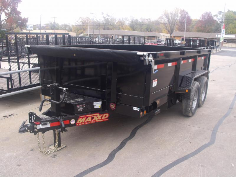 Dump Trailer 83 X 14 14000 GVW  Spreader Gate  MAXXD
