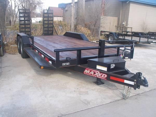 2016 Maxey Equipment Trailer Equipment Trailer