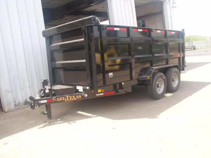 Dump  Trailer  Hi-Wall  14K  4' Walls 14 PLY Tires