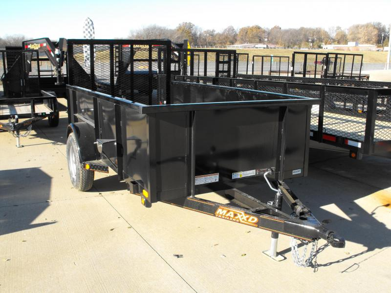 "Utility Trailer  61"" X 10 Hi-Wall Smooth 2990 Axle Sides MAXXD"