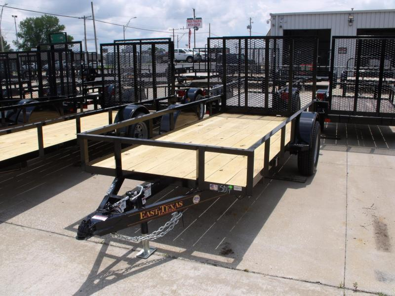Utility Trailer 5 X 12  Spring   Ramp 2990 # Axle