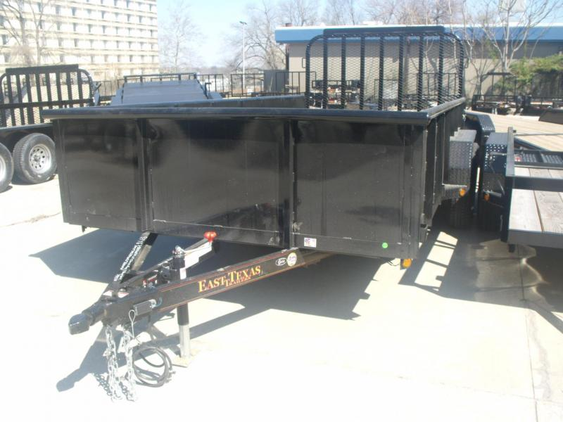 Hi Wall Trailer 83 X 16 Landscape Equipment Trailer