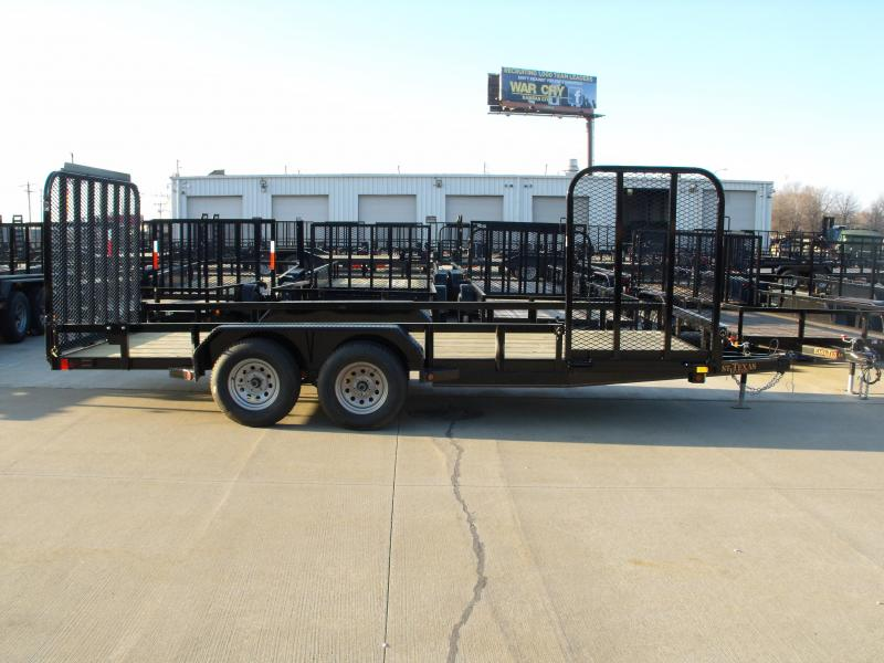 Landscape Trailer 83 X 18 Side Load Rear Load 7000 GVW