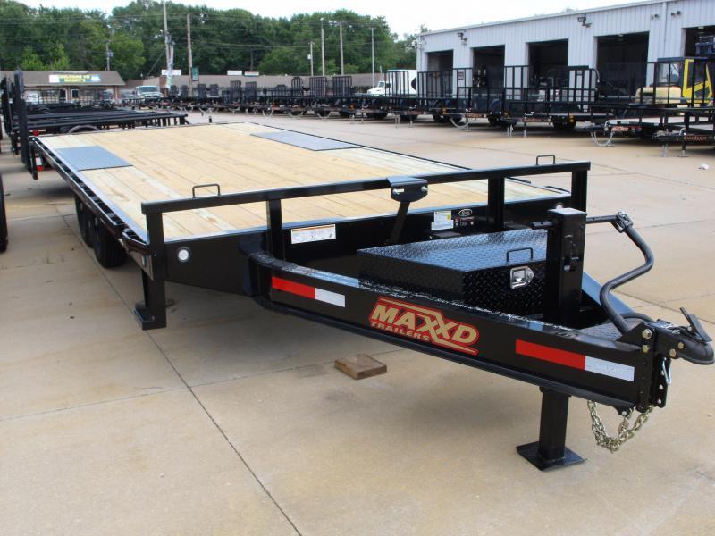 I Beam Deck Over Equipment Trailer 83 X 20  14000 GVW