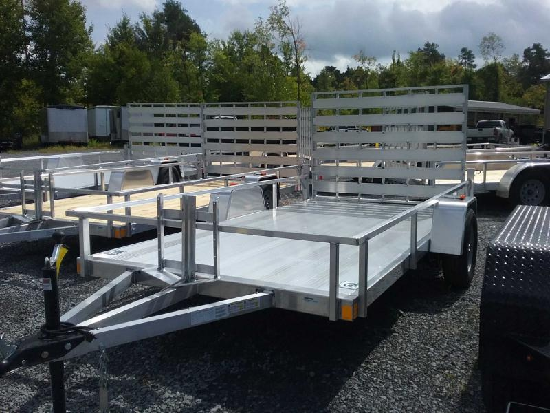2020 Rance Aluminum Trailers 6.5'x12'SA Utility Trailer