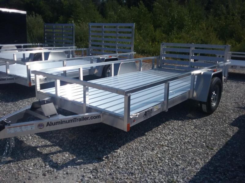 2019 Aluminum Trailer Company 6X12 Bifold Gate Utility Trailer