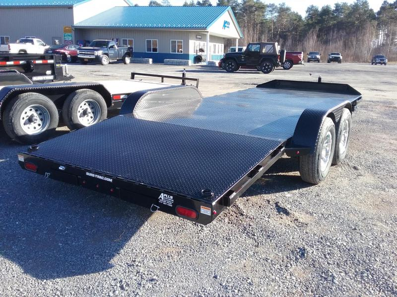 2019 Sure-Trac 7 x 18 Steel Deck Car Hauler  10k