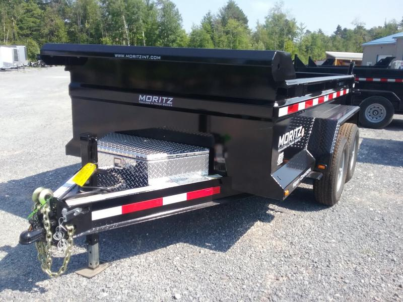 2018 Moritz International 6X10 Dump Trailer
