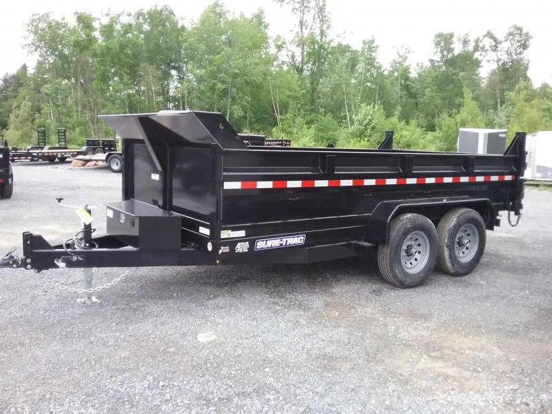 2018 Sure-Trac 82 IN X 14 LP 14K Scissor Dump