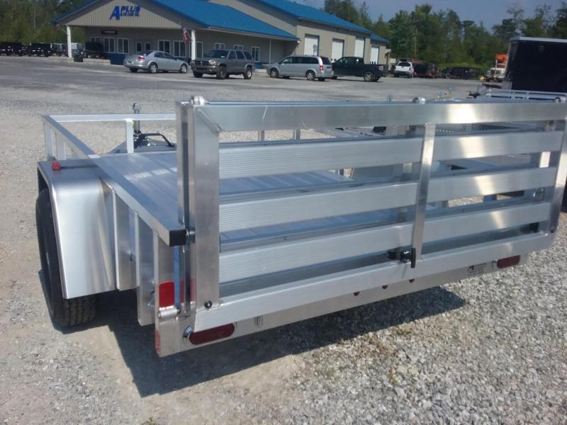 2019 Aluminum Trailer Company 6X10 Bifold Gate Utility Trailer