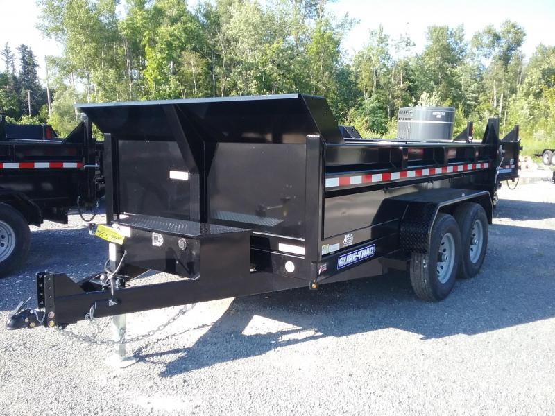 2018 Sure-Trac 82 IN X 12 LProfile 14K Scissor Dump