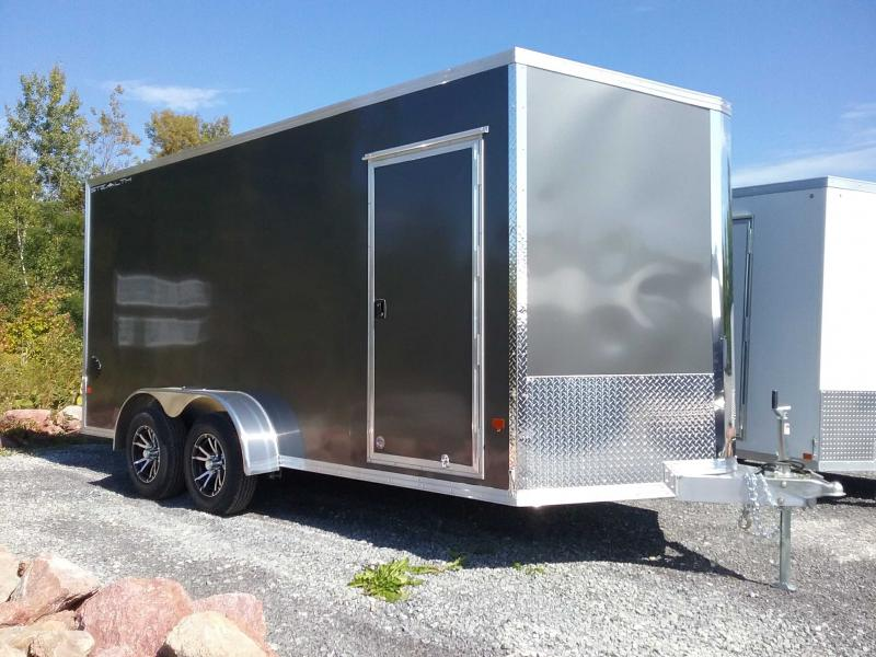 2020 Alcom-Stealth C7X16-IF Enclosed Cargo Trailer