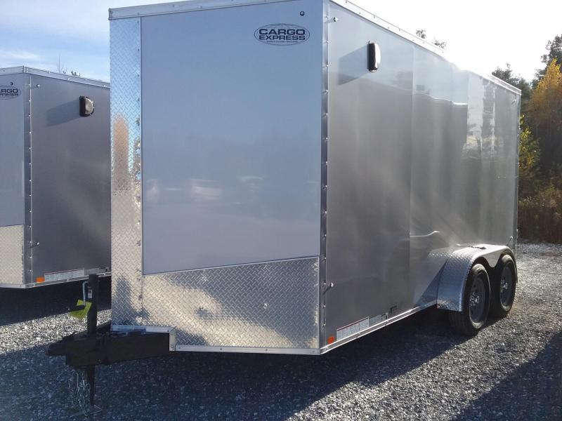 2018 Cargo Express Xlw Se 7' Wide Cargo Flat Top Cargo / Enclosed Trailer