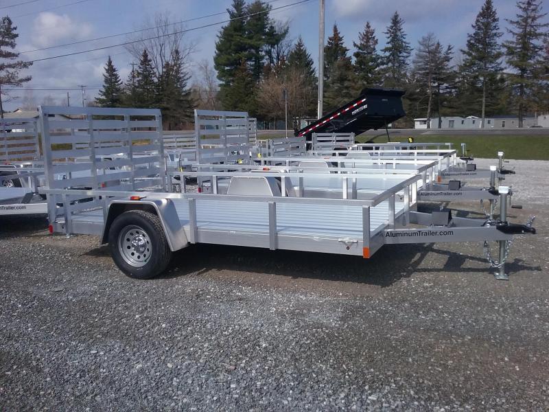 2018 Aluminum Trailer Company 7X12 Utility Trailer