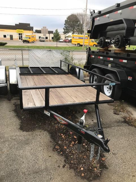 2017 H and H Trailer RS5.5x12RS Utility Trailer