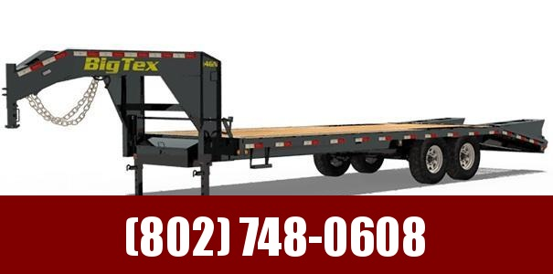 2018 Big Tex Trailers 14GN-20+5 Equipment Trailer