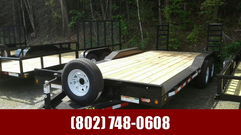 2017 Big Tex Trailers 10DF - 20BK Equipment Trailer