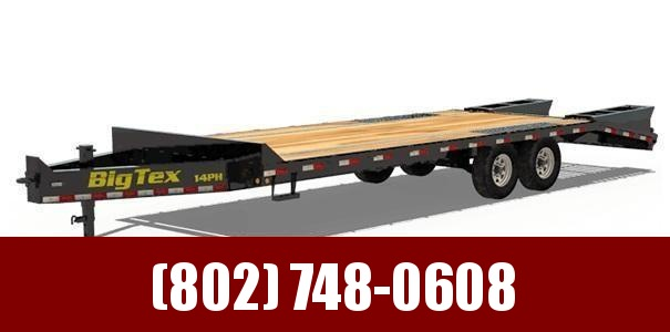 2019 Big Tex Trailers 14PH-205 Equipment Trailer With MEGA RAMPS