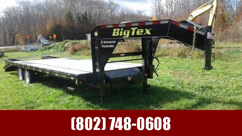 2019 Big Tex Trailers 14GN 20+5 MEGA RAMPS  Gooseneck Equipment Trailer