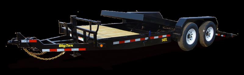 2018 Big Tex Trailers 14TL-22BK Tilt Deck Equipment Trailer