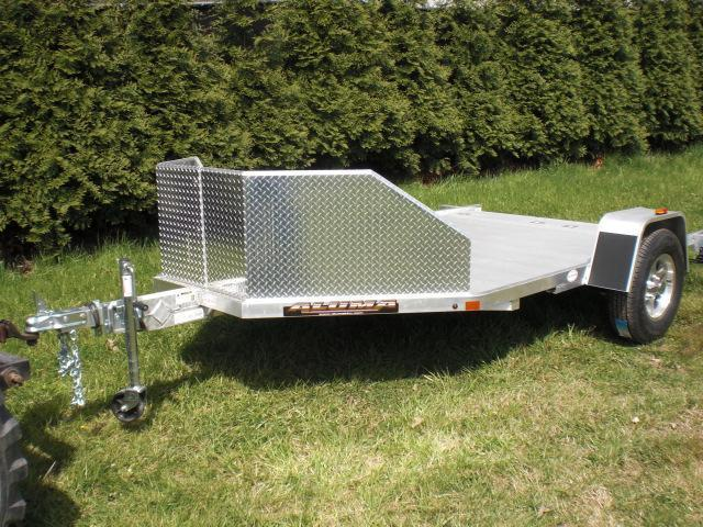 Aluma Motorcycle Trailer for 2 Bikes