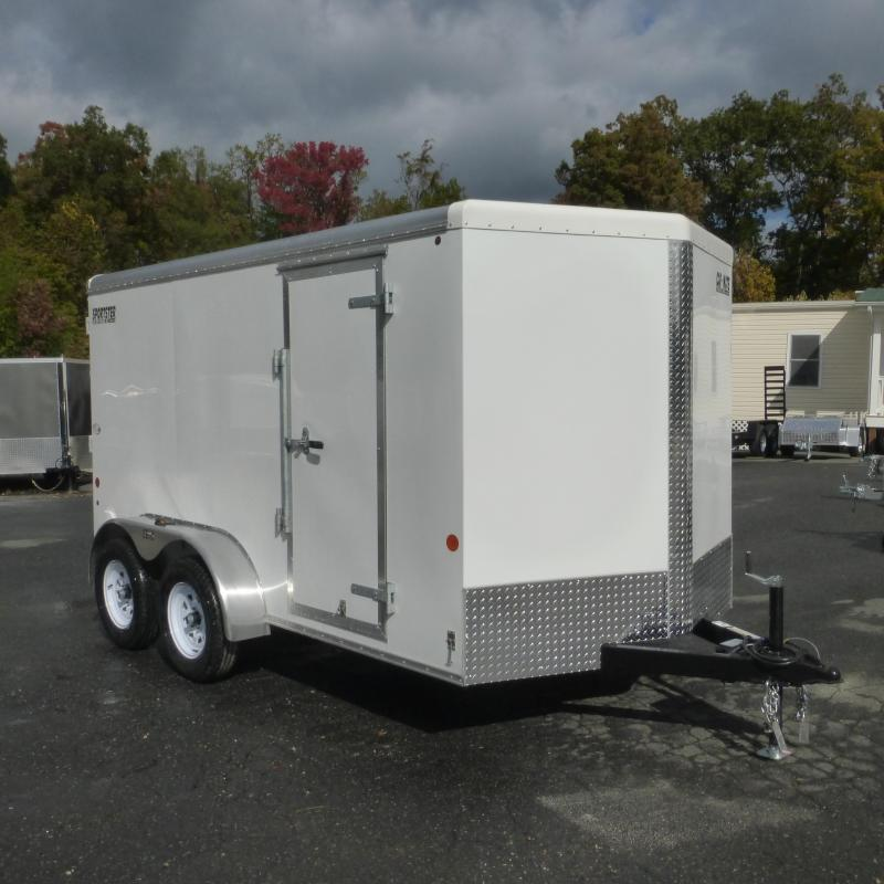 2019 Car Mate 7 x 12 Enclosed Cargo Trailer